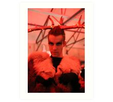 Dark Mofo Winter Feist 2014 Reindeer man 5 Art Print