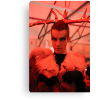 Dark Mofo Winter Feist 2014 Reindeer man 5 Canvas Print