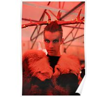 Dark Mofo Winter Feist 2014 Reindeer man 5 Poster