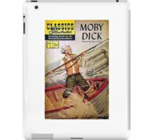 Classics Illustrated--Moby Dick iPad Case/Skin