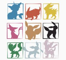 Eeveelutions 3x3 (Grid) by rK9nation