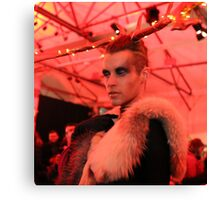Dark Mofo Winter Feist 2014 Reindeer man 6 Canvas Print