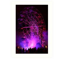 Ferriswheel of Death, Dark Mofo 2014  Art Print