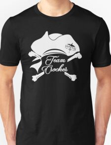 Haven Team Crocker White Pirate Hat Logo Unisex T-Shirt