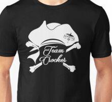 Haven Team Crocker White Pirate Hat Logo Unisex T-Shirt