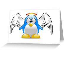 angel penguin Greeting Card