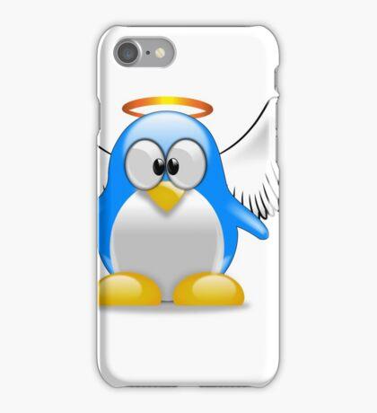 angel penguin iPhone Case/Skin