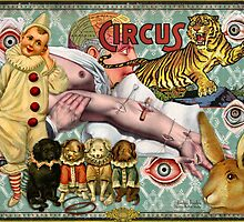 Circus Poster by Barbee Teasley