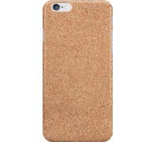 Cork texture iPhone Case/Skin