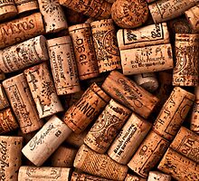 Wine corks textures by sermi
