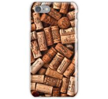 Wine corks textures iPhone Case/Skin