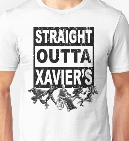 Straight Outta Xavier's •X-Men Compton Parody Unisex T-Shirt
