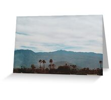 In the Desert (Indio) Greeting Card