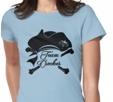 Haven Team Crocker Black Pirate Hat Logo Womens Fitted T-Shirt