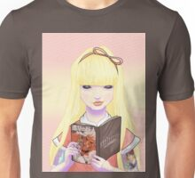 Girls read comics too! Titans Unisex T-Shirt