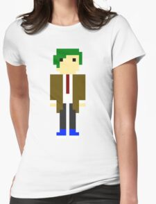 Mitch (16 Bit) Womens Fitted T-Shirt