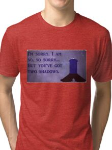 Dr. Who Silence in the Library Tri-blend T-Shirt