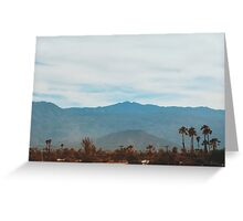 In the Desert No.2 (Indio) Greeting Card