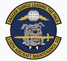 116th Aircraft Maintenance Squadron - Dagger Dawgs Leading The Pack by VeteranGraphics