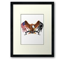 All Gave Some Some Gave All POW MIA Framed Print