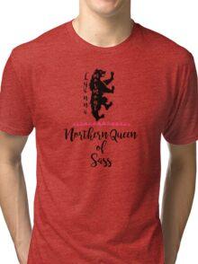 Northern Queen of Sass - Lyanna Mormont. Tri-blend T-Shirt