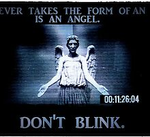 Weeping Angel/ Don't Blink by jesslindjice