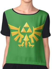 (Geometric) Zelda Triforce Chiffon Top
