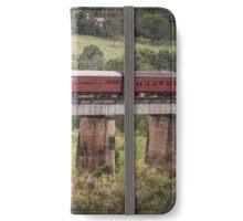 Heritage Steam Train, Mary Valley, Queensland iPhone Wallet/Case/Skin