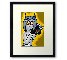 Caress the Box Framed Print