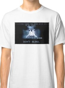 Weeping Angel/ Don't Blink Classic T-Shirt
