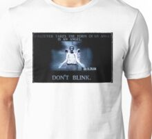 Weeping Angel/ Don't Blink Unisex T-Shirt