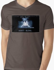 Weeping Angel/ Don't Blink Mens V-Neck T-Shirt