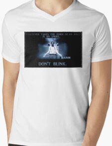Weeping Angel/ Don't Blink Mens V-Neck T-Shirt