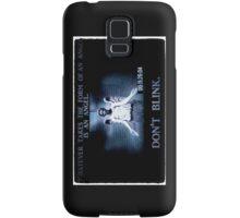 Weeping Angel/ Don't Blink Samsung Galaxy Case/Skin