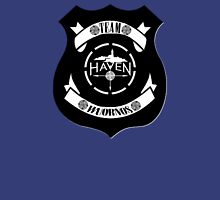 Haven Team Wuornos Police Badge Black Logo Unisex T-Shirt