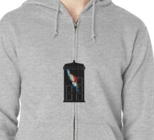 The T.A.R.D.I.S. Zipped Hoodie