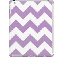 Purple and White Chevron iPad Cases iPad Case/Skin