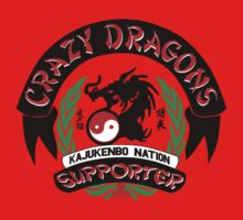 Crazy Dragon Kajukenbo Nation Support One Piece - Long Sleeve