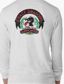 Crazy Dragon Kajukenbo Nation Support Long Sleeve T-Shirt