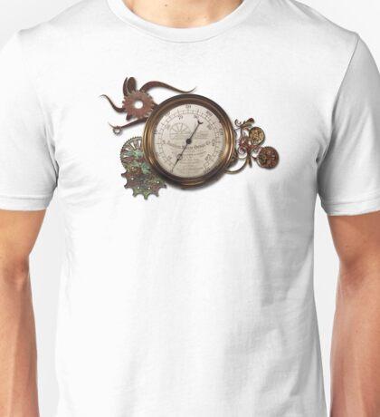 STEAMPUNK STEAM GAUGE DESIGN Unisex T-Shirt