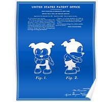 Bimbo Patent - Blueprint Poster