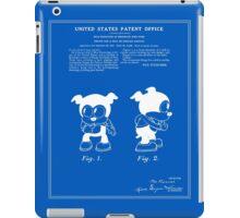 Bimbo Patent - Blueprint iPad Case/Skin