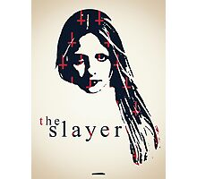 Icons - Buffy Summers Photographic Print