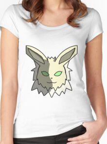 Jolteon-Headshot Women's Fitted Scoop T-Shirt