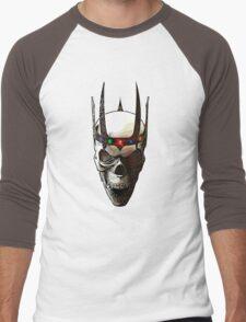 Angry Skeleton King Men's Baseball ¾ T-Shirt