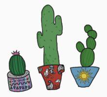 Cactus Cuties by awksxadolescent