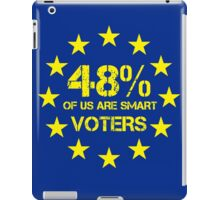 smart voters iPad Case/Skin