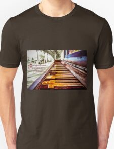 Broken Piano highlights Unisex T-Shirt