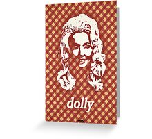 Icons - Dolly Parton Greeting Card