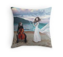 Ceol na Mara (The Music of the Sea) Throw Pillow